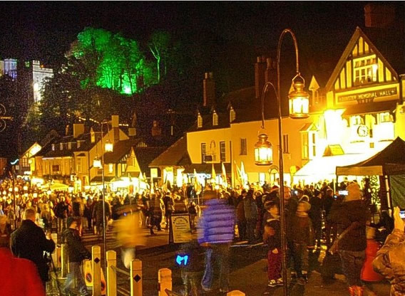 Dunster by Candle Light